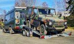 Mercedes Wolf bei der Bundeswehr kaufen und abholen